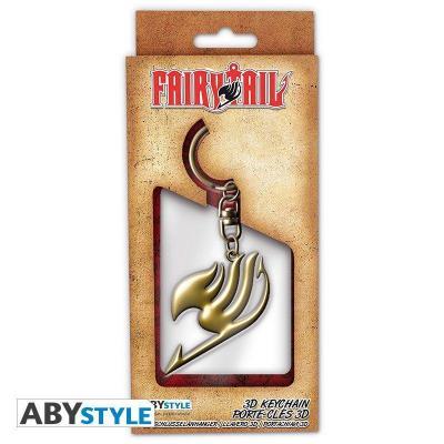 Fairy tail porte cles 3d embleme