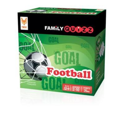 Family quizz le jeu de societe football
