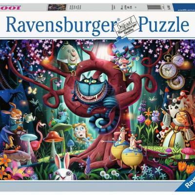 Fantasia puzzle 1000p tout le monde est fou ici