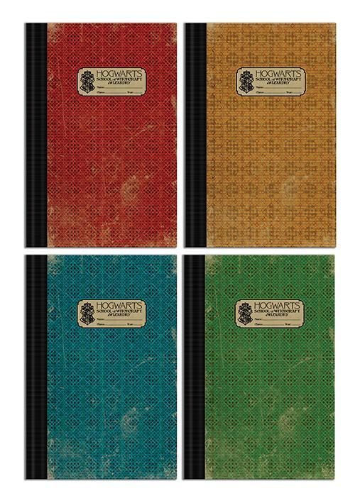 Fantastic beasts 2 pack 4 x exercise books b5 hogwarts 1