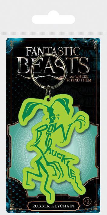 Fantastic beasts 2 porte cles caoutchouc bowtruckle