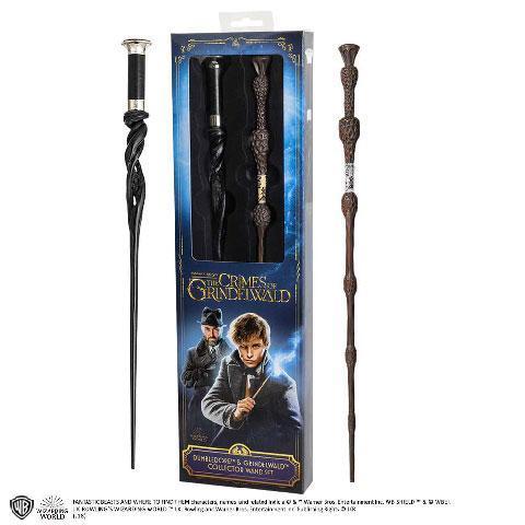 Fantastic beasts baguettes dumbledore grindelwald blister