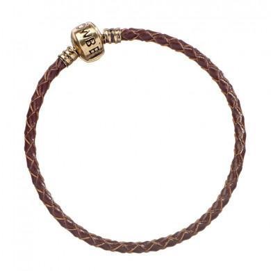 Fantastic beasts bracelet fantaisie cuir marron 20cm