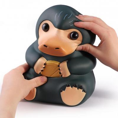 Fantastic beasts figurine anti stress niffleur couineur collector