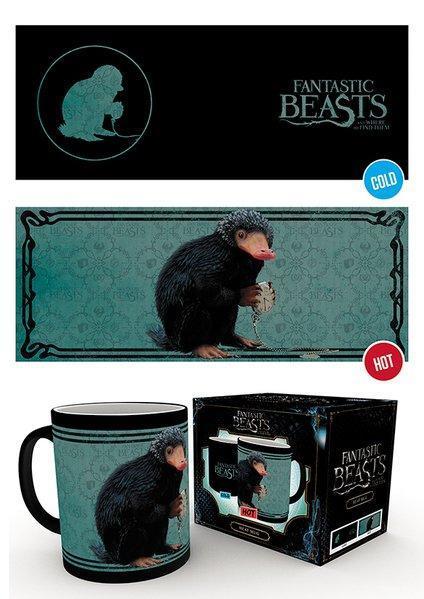 Fantastic beasts mug thermoreactif 300 ml niffler