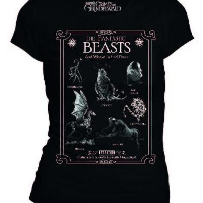 Fantastic beasts t shirt creatures