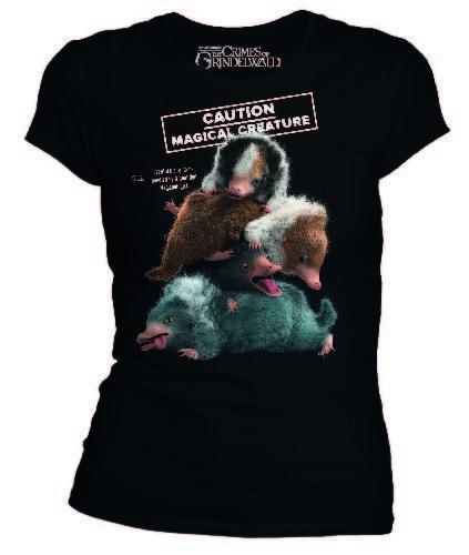 Fantastic beasts t shirt niffleur caution magical creature