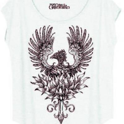 Fantastic beasts t shirt thunder bird art