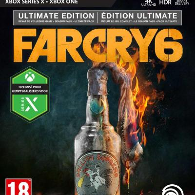 Far cry 6 ultimate edition xbox one xbox series x