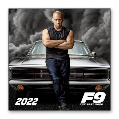 Fast furious calendrier 2022 30x30cm