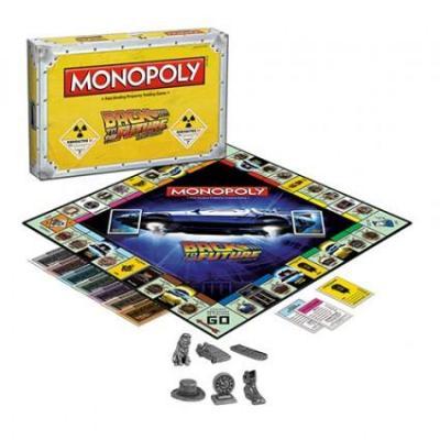 Figurine monopoly retour vers le futur collectors edition en anglais suisse geneve boutique geek