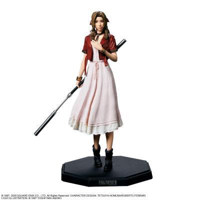 Final fantasy vii aerith gainsborough figurine 21cm reprod