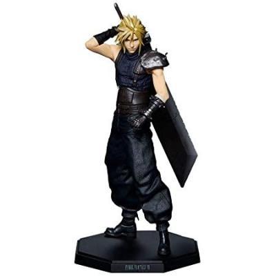 Final fantasy vii cloud strife figurine articulee 23cm reprod