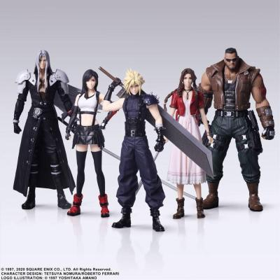 Final fantasy xii pack 5 figurines 10cm reprod