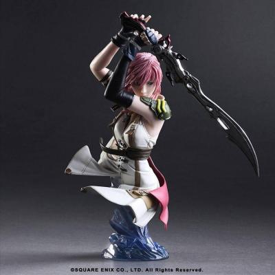 Final fantasy xiii lightning buste 17cm reprod