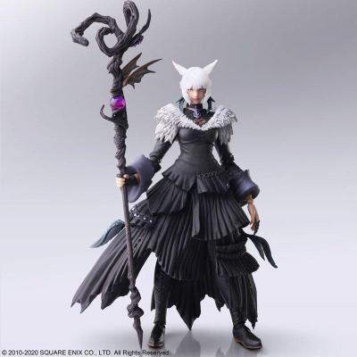 Final fantasy xiv y shtola figurine articulee 14cm reprod