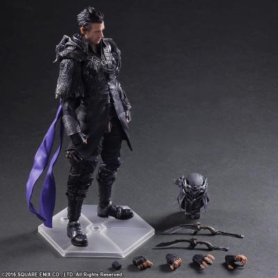 Final fantasy xv nyx ulric figurine articulee 27cm reprod