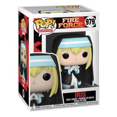 Fire force bobble head pop n 979 iris