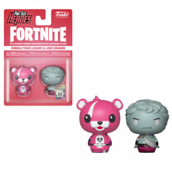 Fortnite 2 pint size heroes figures cuddle love ranger 6cm