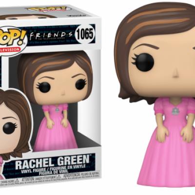 Friends bobble head pop n 1065 rachel in pink dress