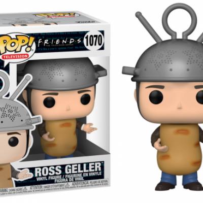 Friends bobble head pop n 1070 ross as sputnik