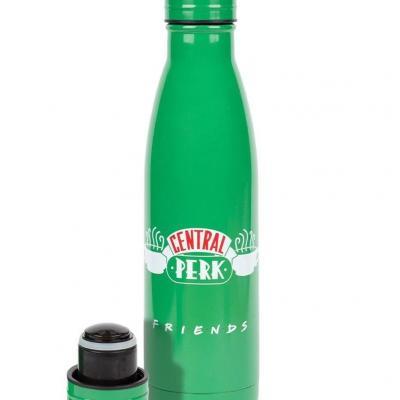 Friends bouteille en metal central perk logo 550ml