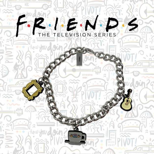 Friends bracelet avec charmes edition limitee