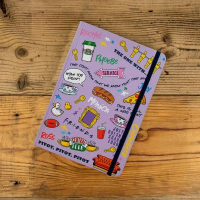 Friends cahier a5 icons