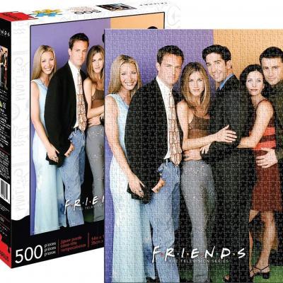 Friends cast puzzle 500p 35x48cm