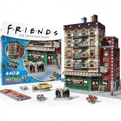 Friends central park puzzle 3d 440p