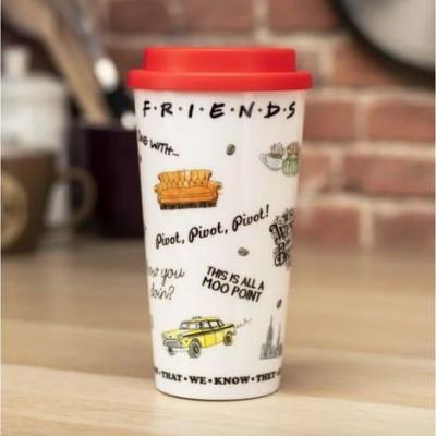 Friends central perk mug de voyage 400ml