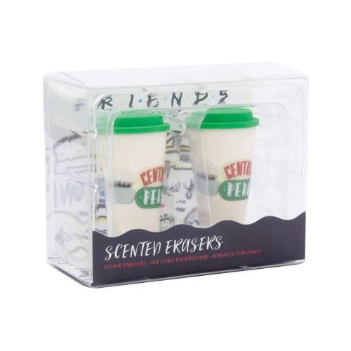 Friends central perk pack de 2 gommes parfumees
