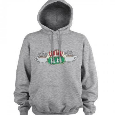 Friends central perk sweat hoodie gris