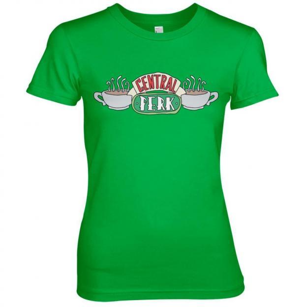 Friends central perk t shirt girl green