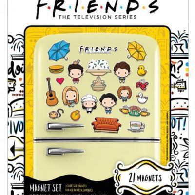 Friends chibi set de magnets