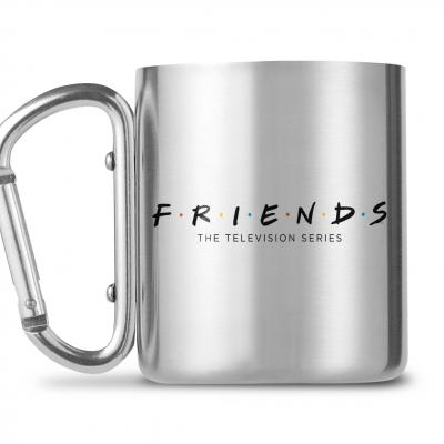 Friends logo mug mousqueton 240ml