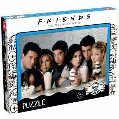 Friends milkshake puzzle 1000p
