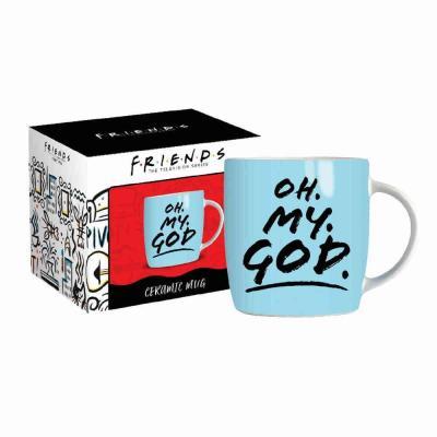 Friends oh my god mug