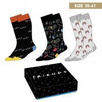 Friends pack de 3 paires de chaussettes p35 41 1