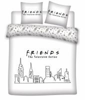 Friends parure de lit 200x200 friends 100 coton 1