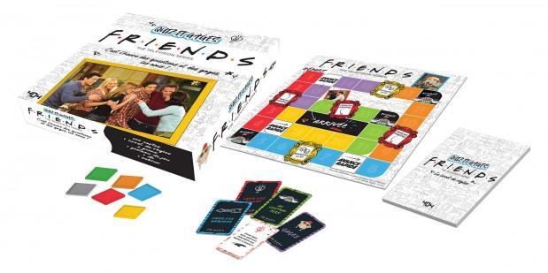Friends quiz et gages jeu de plateau officiel 2