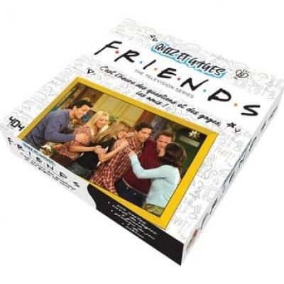 Friends quiz et gages jeu de plateau officiel