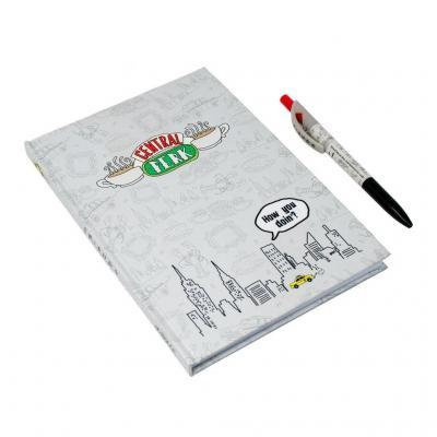 Friends set cahier stylo bic