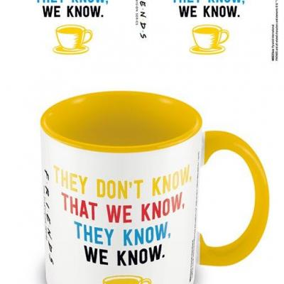 Friends we know mug interieur colore 315ml