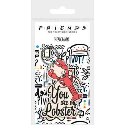 Friends you are my lobster porte cles en caoutchouc 1