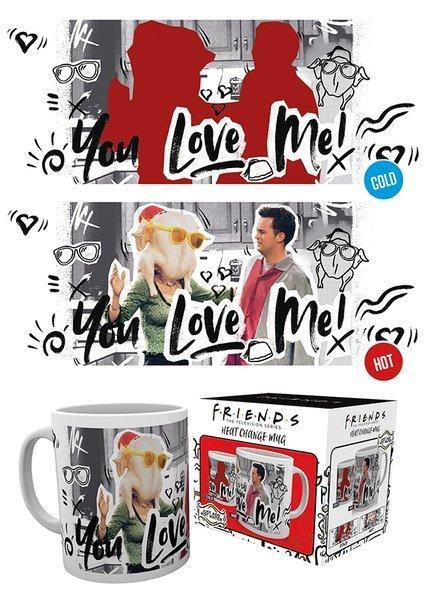 Friends you love me mug thermoreactif 300 ml 2