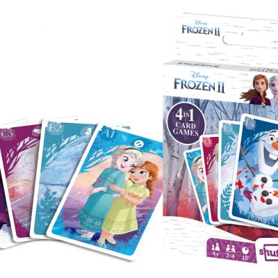 Frozen 2 jeu de cartes 4 en 1