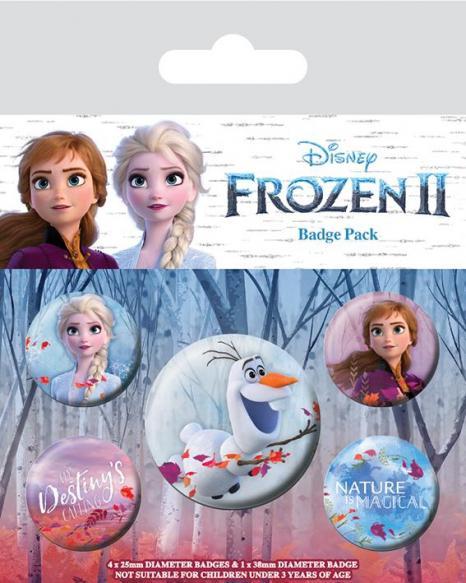 Frozen 2 pack 5 badges destiny