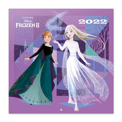 Frozen calendrier 2022 30x30cm