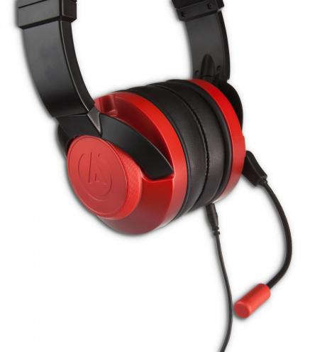 Fusion wired gaming headset crimson 2